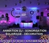 Animation DJ / Sonorisation / Eclairage / Projection CASABLANCA 0661323043