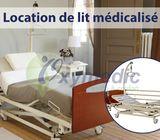 Location lit médicalisé électrique