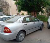 Toyota corolla -2007