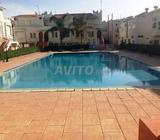 Duplex Meublé de 120 m2 avec piscine Harhora