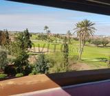 Villa duplex front de golf roof top vue