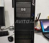 HP WORKSTATION Z600 XEON 12Gb ram