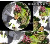 Lampe avec Camera Espion 360 Panoramique