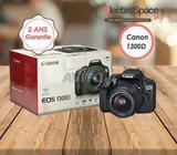 Canon 1300D avec objectif 18-55mm neuf