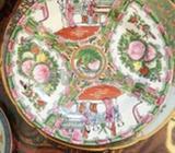 2 Plat Assiette En Porcelaine Chinoi macau