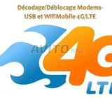 Décodage modems/WifiMobile 4G -Alcatel-Huawei-ZTE