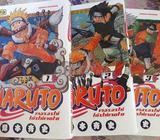 Pack naruto tome 1 2 et 3