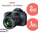 Canon 5d mark iii avec objectif 24-105mm