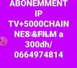 Abonnement IPTV 1 ans 5000 chainnes international