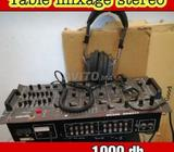 table mixage dj stereo 1000 dh