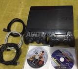 PS3 super slim 250 GB 15 Jeux installer