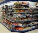 Rayonnage supermarché