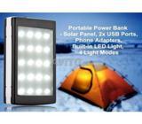/268DJHEH309/ Chargeur Solaire DE 15000 mAh LED