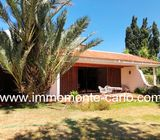 Superbe villa avec piscine et chauffage central à Souissi