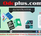 Formation accélérée en illustrator Photoshop 3ds max Hay el mohammadi