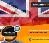 Cours d'anglais pour débutant