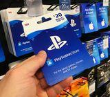 PSN Code Carte PlayStation Network et PS PLUS