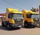 2 Scania camions à vendre