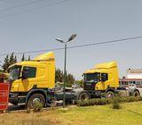 2 Camions Scania Modéle 2016
