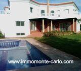 Location d'une villa d'architecte avec piscine à Soussi